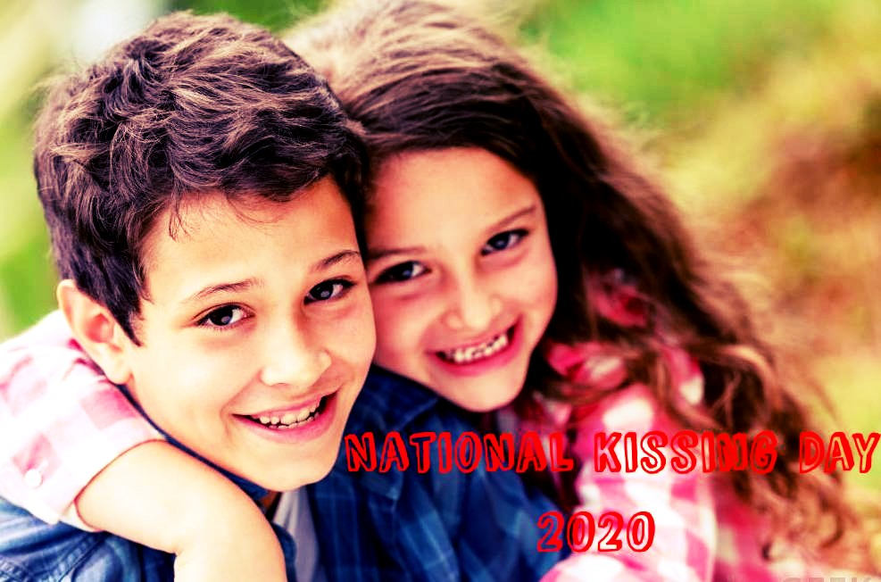 National Kissing Day Images
