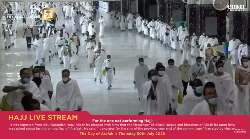 Arafat Day 2020 Live Stream