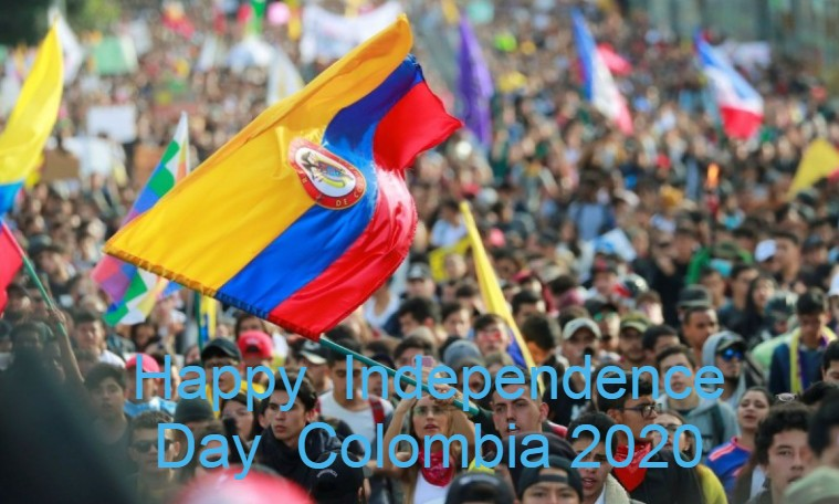 Independence day  Colombia 2020