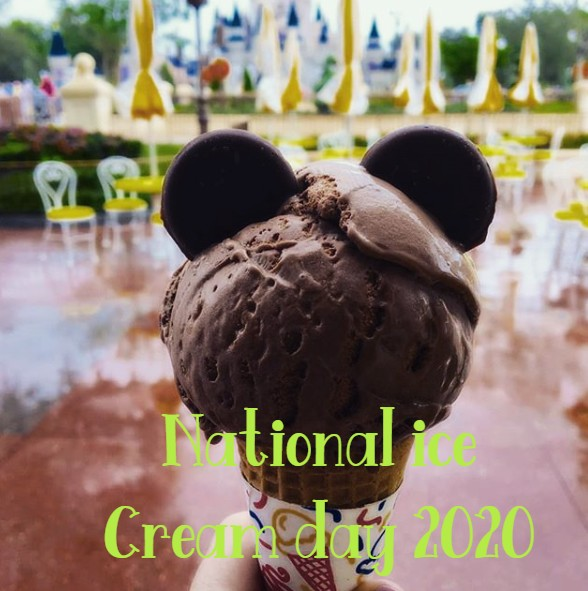 National ice Cream day 2020
