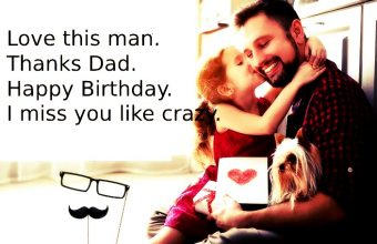 Happy Birthday Wishes for a Dad