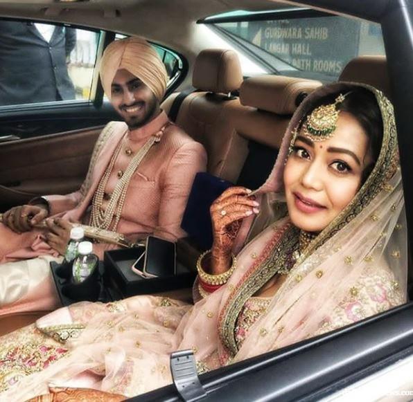 Newly Wed Couple Neha Kakkar Rohanpreet Singh