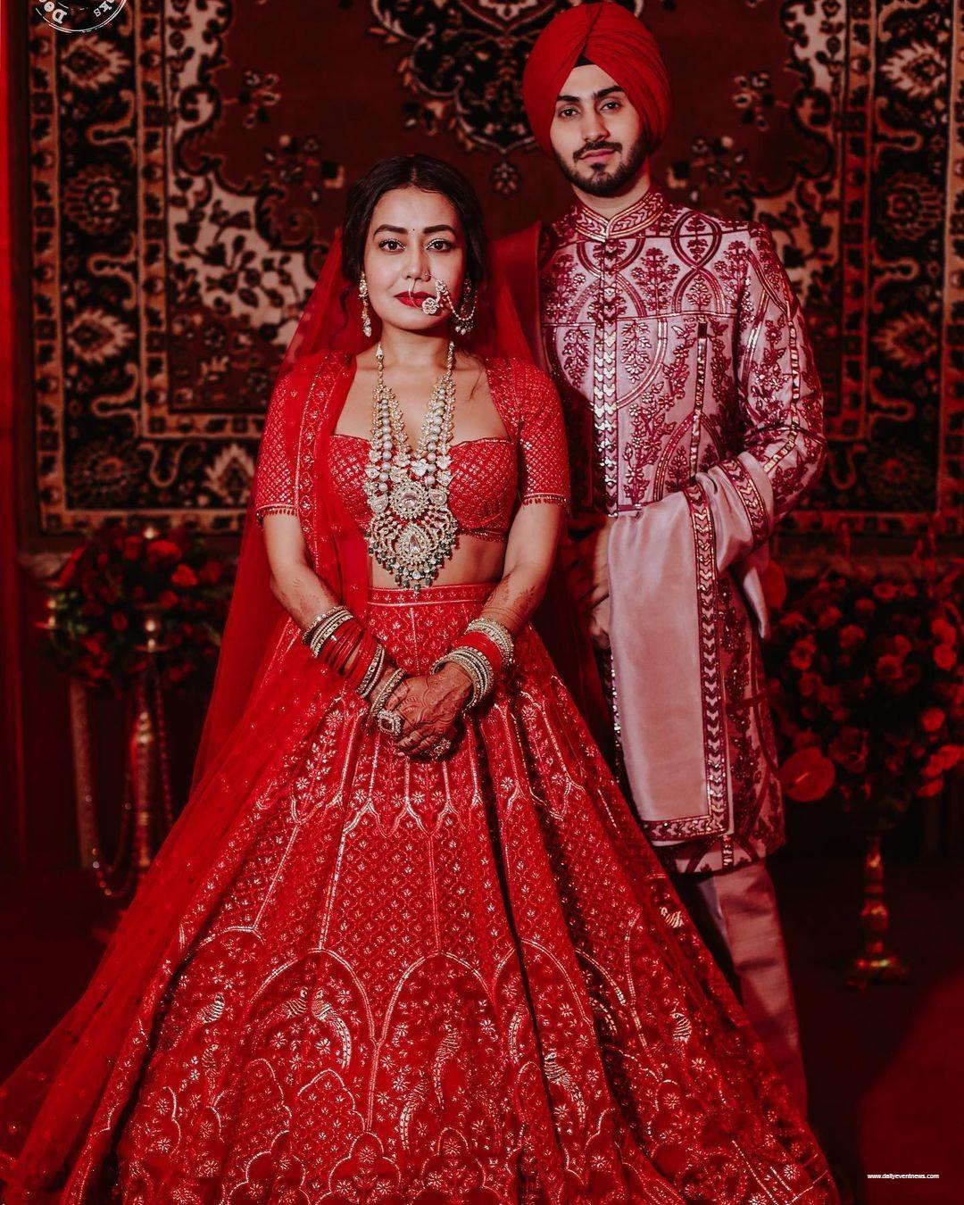 Neha Kakkar Wedding Glimpse