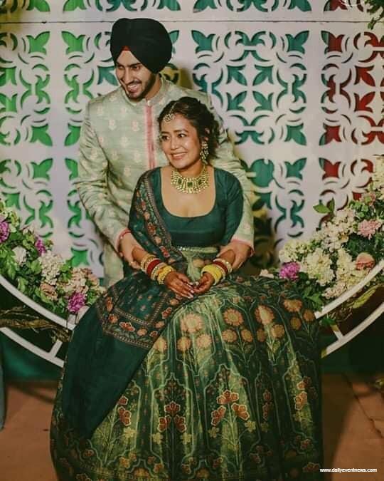 Mehendi Ceremony of Neha Kakkar and Rohanpreet singh