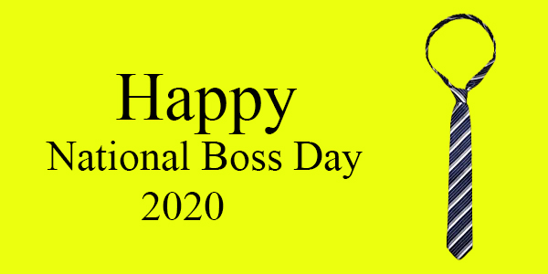 National Boss Day 2020
