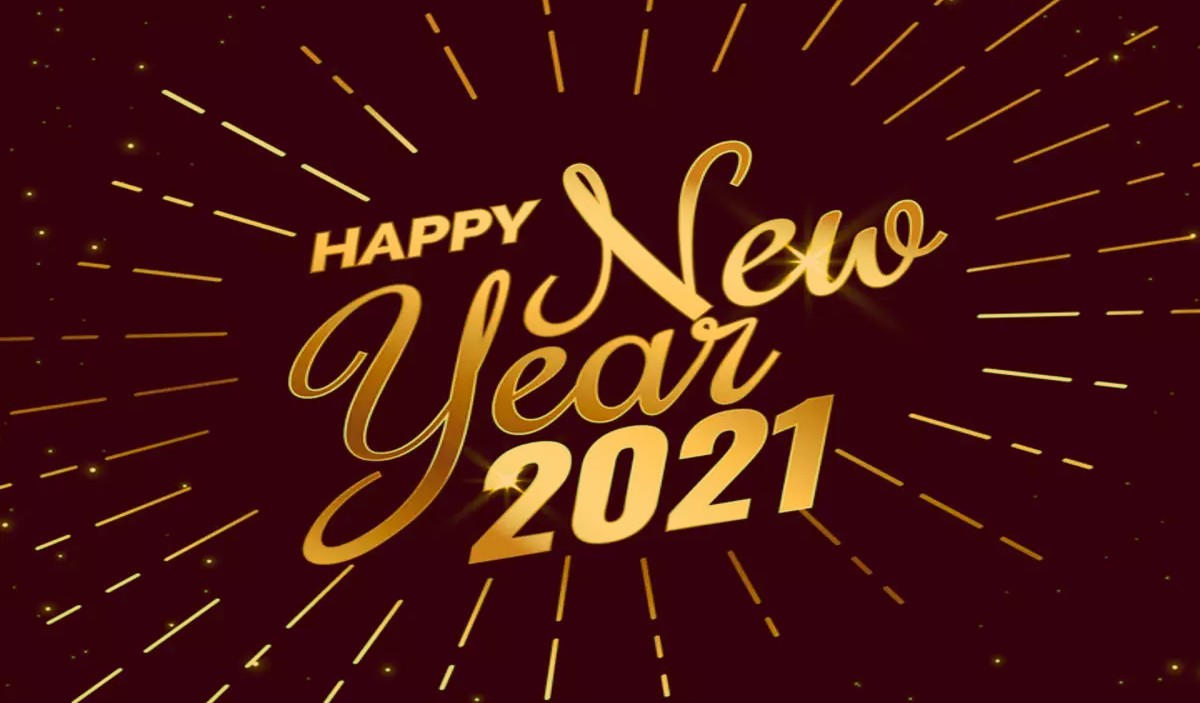 Happy new year 2021 Image