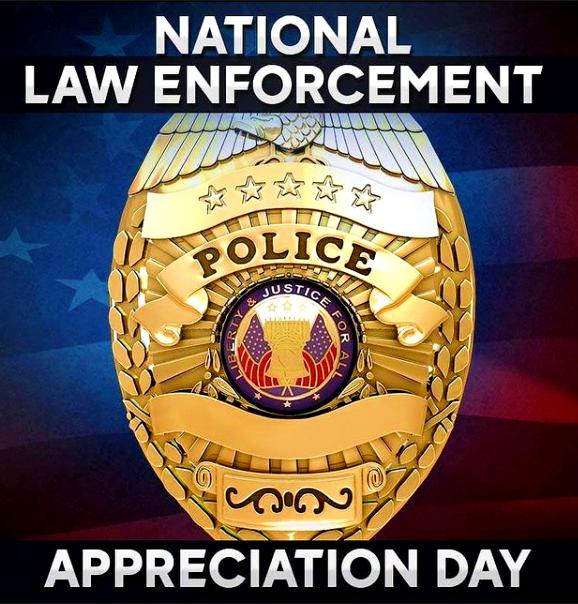 National Law Enforcement Appreciation Day 2021