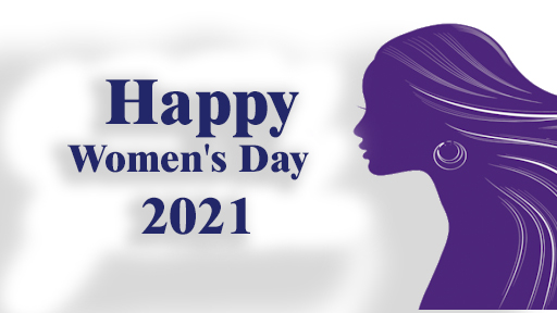 Happy woman's Day 2021