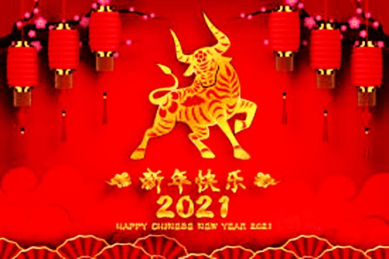Happy Chinese Year year 2021