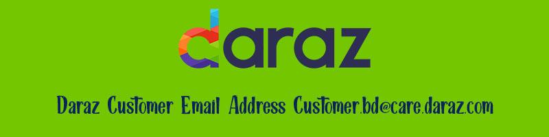 Daraz email address