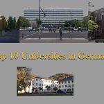 Top 10 Universities in Germany 2021