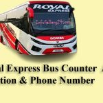 Royal Express Bus Counter Address, Location & Phone Number