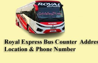 Royal Express Bus Counter, Address, Location & Phone Number, price!